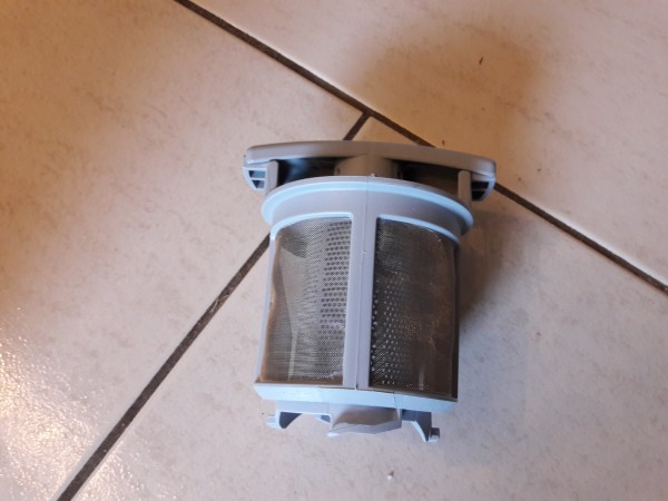 AEG F55008IMOP, Sieb Filter, Bestell Nr. 111 9161-10/5, Ersatzteil, Spülmaschiene, Filter, gebraucht, Geschirrspüler, Erkelenz,